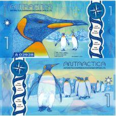 Antarctica 2015 1 Dollar P32 UNC
