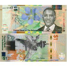 Bahama 2017 1 Dollar P77 UNC