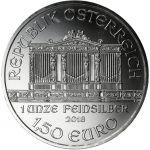 Itävalta 2018 1,50 € Wiener Philarmoniker 1 Unssi HOPEA BU