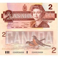 Kanada 1986 2 Dollar P94b UNC