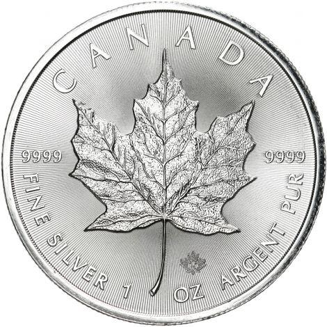 Kanada 2018 5 Dollars Maple Leaf 1 Unssi HOPEA