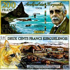 Kerguelen 2012 200 Francs P-A2b UNC