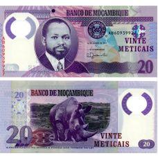 Mosambik 2017 20 Meticais P149b UNC