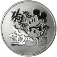 Niue 2018 2 Dollars Mickey Mouse 1 Unssi HOPEA