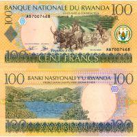 Ruanda 2003 100 Francs P29a UNC
