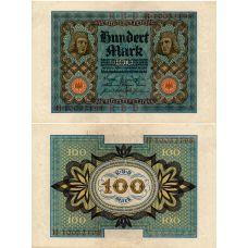 Saksa 1920 100 Mark P69b XF