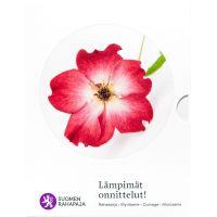 Suomi 2018 Rahasarja Lämpimät onnittelut BU