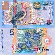 Suriname 2000 5 Gulden P146 UNC