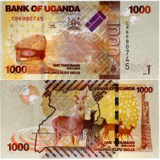 Uganda 2017 1.000 Shilling P49e UNC