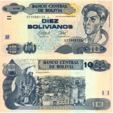 Bolivia 2016 10 Bolivianos P243 UNC