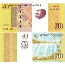 Angola 2012 50 Kwanzas P152 UNC