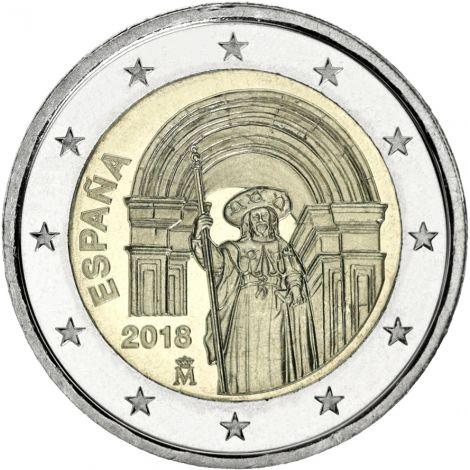 Espanja 2018 2 € Santiago UNC