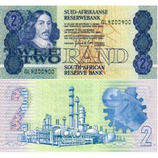 Etelä-Afrikka 1983 2 Rand P118d UNC