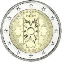 Ranska 2018 2 € Ruiskaunokki UNC