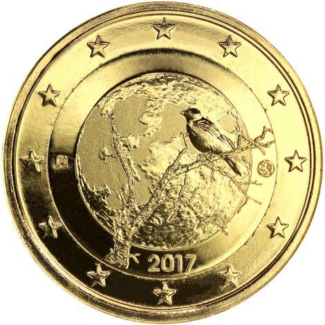 Suomi 2017 2 € Suomalainen luonto KULLATTU