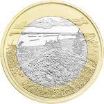 Suomi 2018 5 € Kansallismaisemat - Koli PROOF