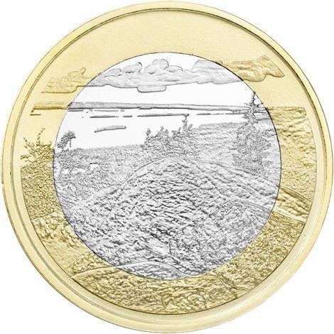Suomi 2018 5 € Kansallismaisemat - Koli UNC