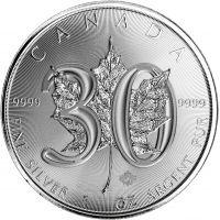 Kanada 2018 5 Dollars Maple Leaf 30v 1 Unssi HOPEA