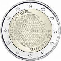 Slovenia 2018 2 € Maailman mehiläispäivä UNC