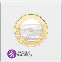 Suomi 2018 5 € Kansallismaisemat - Pallastunturit PROOF