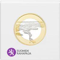 Suomi 2018 5 € Kansallismaisemat - Punkaharju PROOF