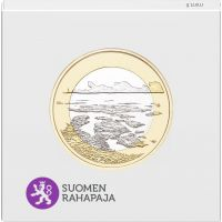 Suomi 2018 5 € Kansallismaisemat - Saaristomeri PROOF