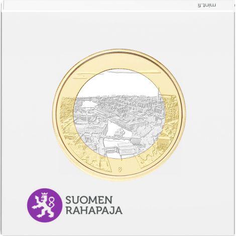 Suomi 2018 5 € Kansallismaisemat - Tammerkoski PROOF