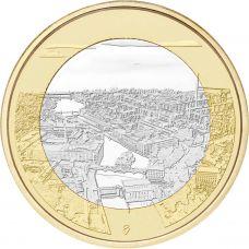 Suomi 2018 5 € Kansallismaisemat - Tammerkoski UNC