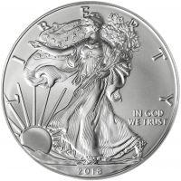 USA 2018 1 Dollar American Eagle 1 Unssi HOPEA