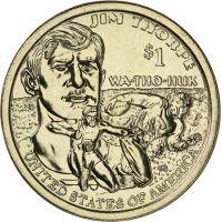 """USA 2018 $1 Sacagawea Native American """"D"""" UNC"""