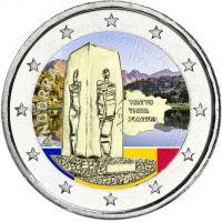 Andorra 2018 2 € Perustuslaki 25 vuotta VÄRITETTY
