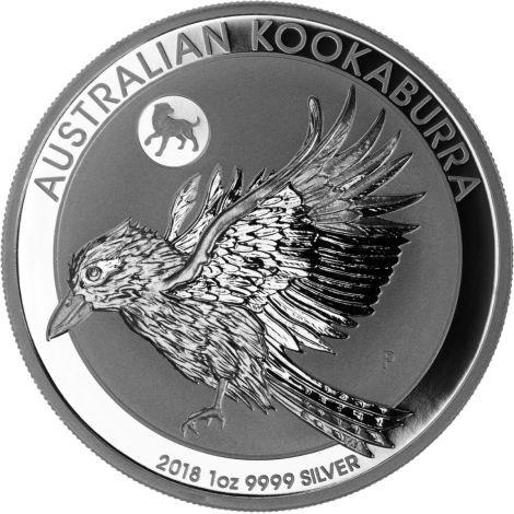 Australia 2018 1 Dollar Kookaburra Dog 1 Unssi HOPEA
