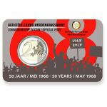 Belgia 2018 2 € Toukokuun 1968 tapahtumista 50v, Hollanti COINCARD