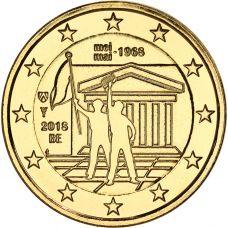 Belgia 2018 2 € Toukokuun 1968 tapahtumista 50v KULLATTU