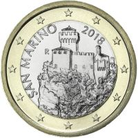 San Marino 2018 1 € UNC