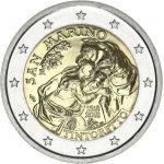 San Marino 2018 2 € Tintoretto UNC