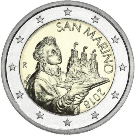 San Marino 2021 2 € UNC