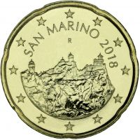 San Marino 2018 20 c UNC