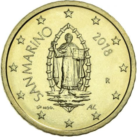 San Marino 2020 50 c UNC