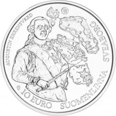 Suomi 2018 10 € Barokki ja rokokoo HOPEA PROOF