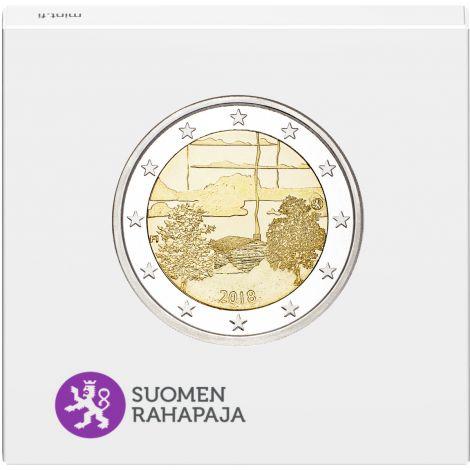 Suomi 2018 2 € Suomalainen saunakulttuuri PROOF