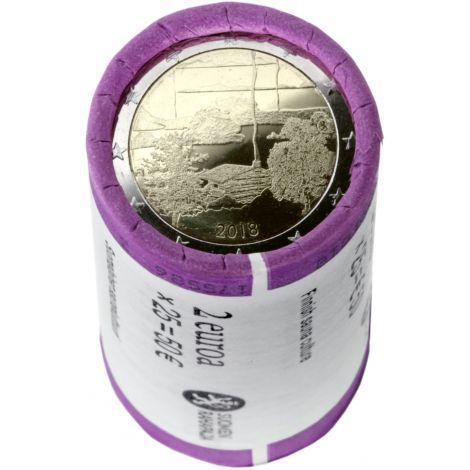Suomi 2018 2 € Suomalainen saunakulttuuri RULLA