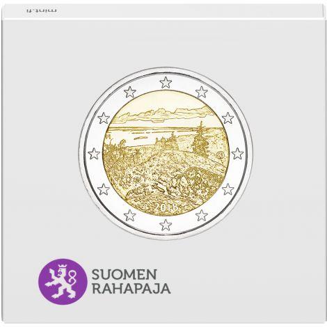 Suomi 2018 2 € Suomalaiset kansallismaisemat Koli PROOF