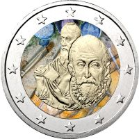 Kreikka 2014 2 € El Greco VÄRITETTY