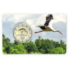 Latvia 2015 2 € Haikara COINCARD