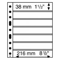 Säilytyslehti, Leuchtturm GRANDE 7S musta (314011)