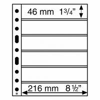 Säilytyslehti, Leuchtturm GRANDE 6S musta (331156)