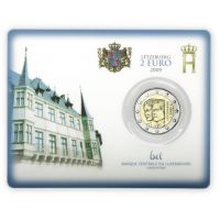 Luxemburg 2009 2 € Charlotte COINCARD