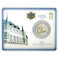 Luxemburg 2012 2 € Guillaume IV COINCARD