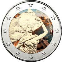 Malta 2014 2 € Itsenäisyys 1964 VÄRITETTY